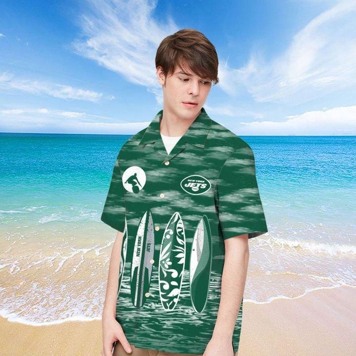 New York Jets Hawaiian shirt And Beach SHORT 14