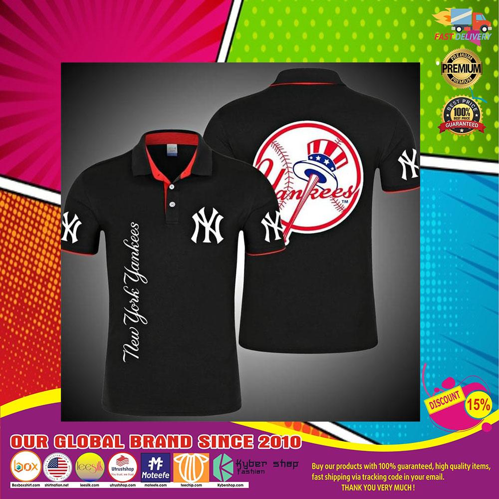New York Yankees 3d polo shirt7