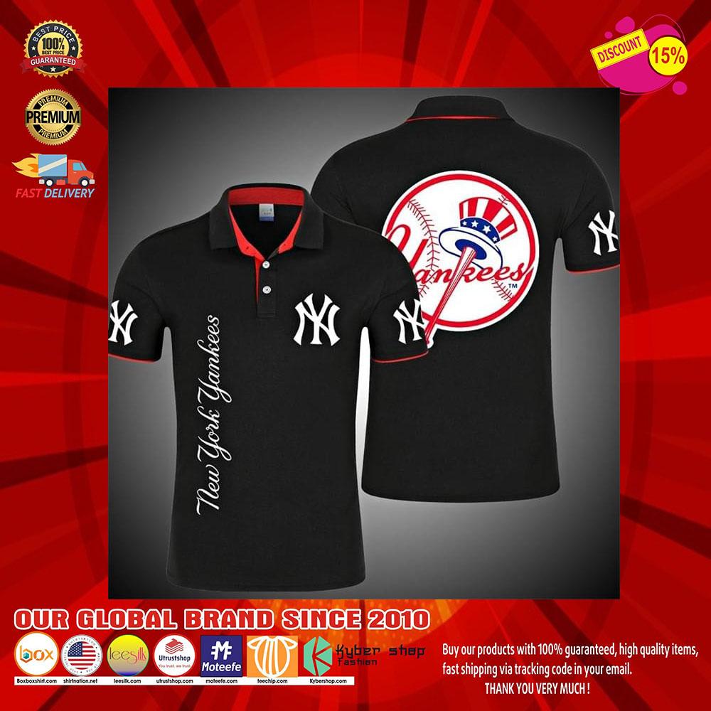 New York Yankees 3d polo shirt8