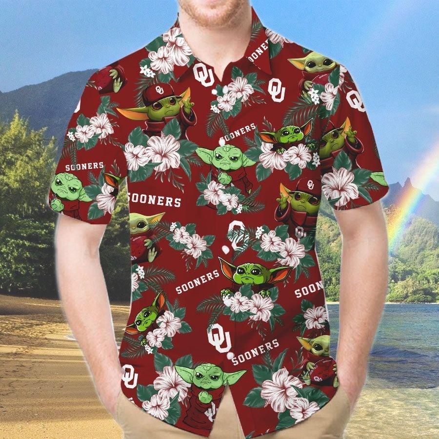 Oklahoma State Cowboys And Yoda Hawaiian And Beach Short 2
