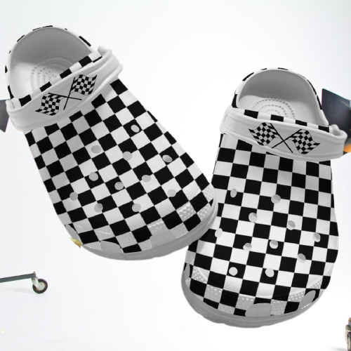Racing dirt track crocs crocband clog 4