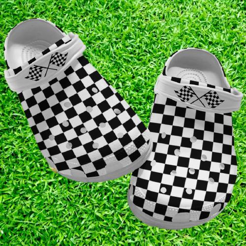Racing dirt track crocs crocband clog 6