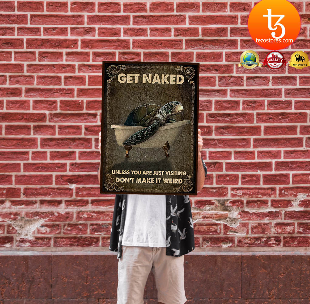 Sea turlte get naked unless you are just visiting don't make it weird poster 19
