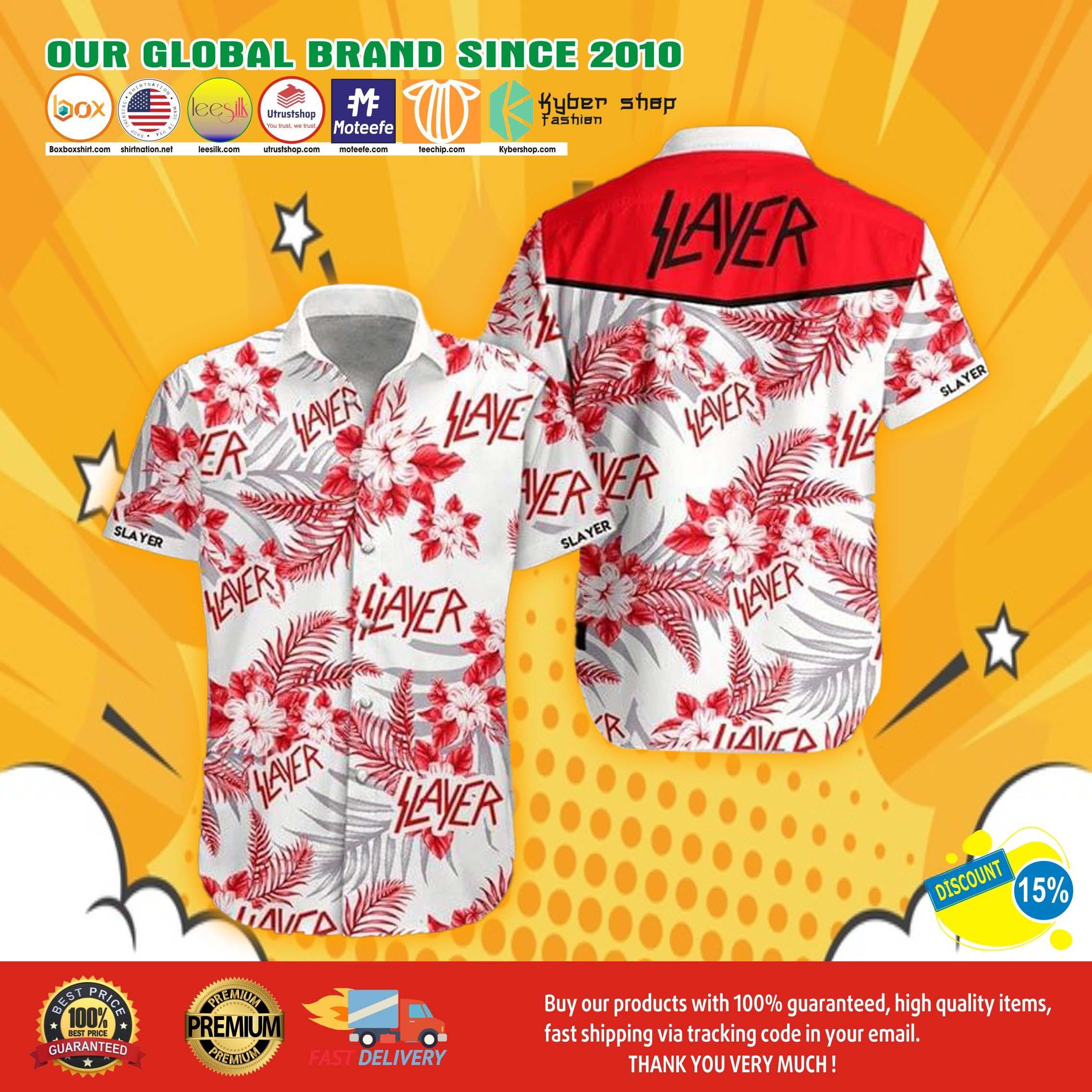 Slayer hawaiian shirt 5