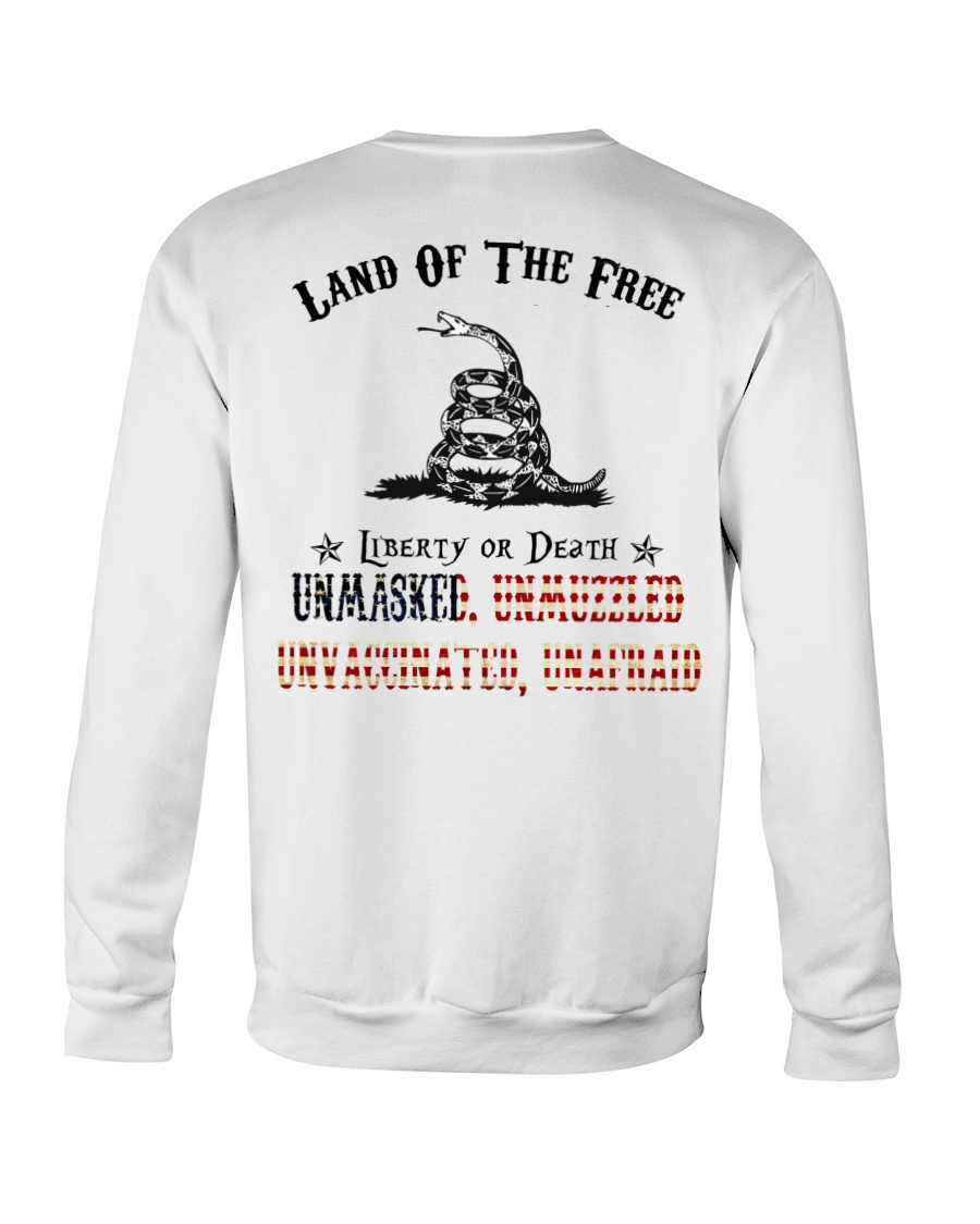 Snake Land Of THe Free Liberty Of Death Unmasked Shirt 25