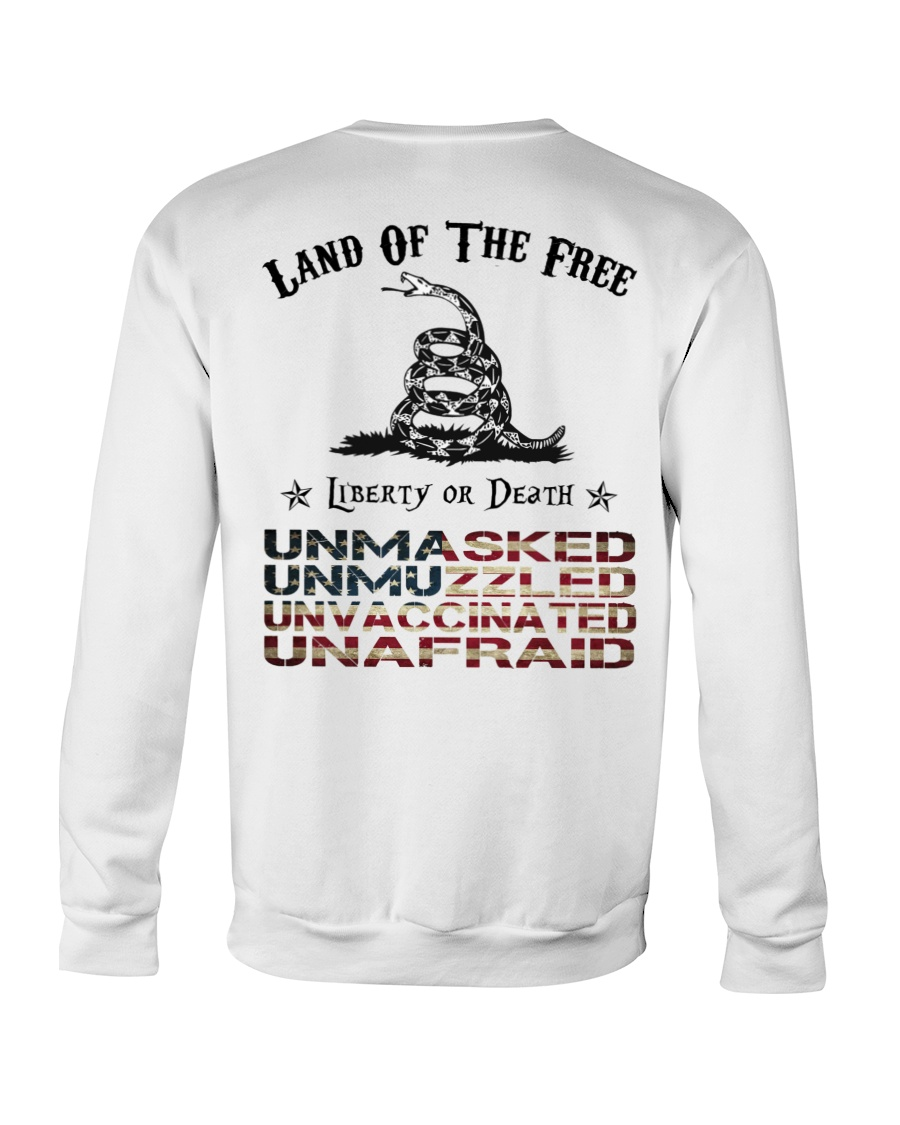 Snake Land Of The Free Liberty Or Death Shirt 19