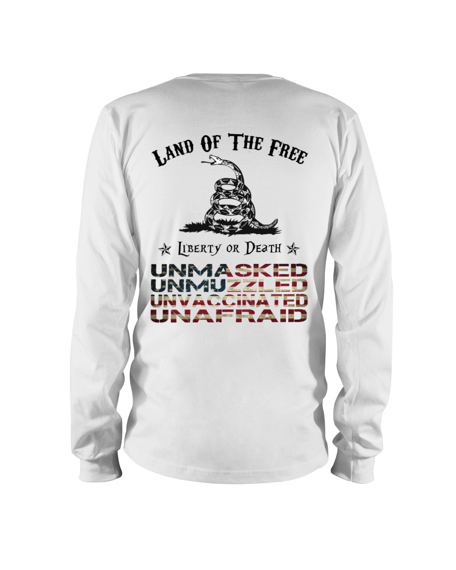 Snake Land Of The Free Liberty Or Death Shirt 23