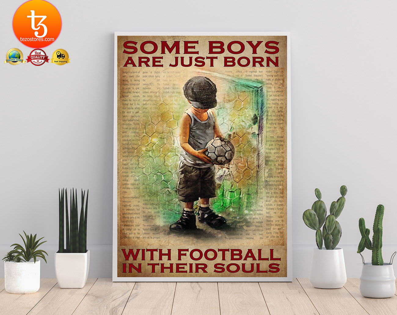 Some boys are just born with football in their souls poster 3