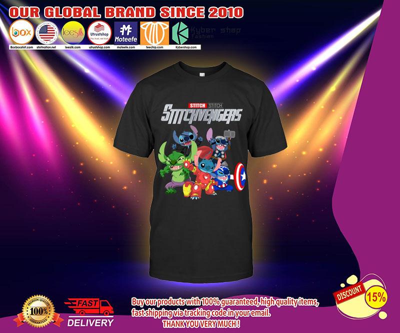 Stitch Avengers stitchvengers shirt 4