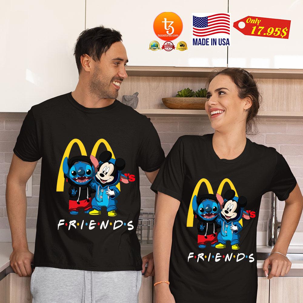 Stitch Mickey mouse Friends shirt 17