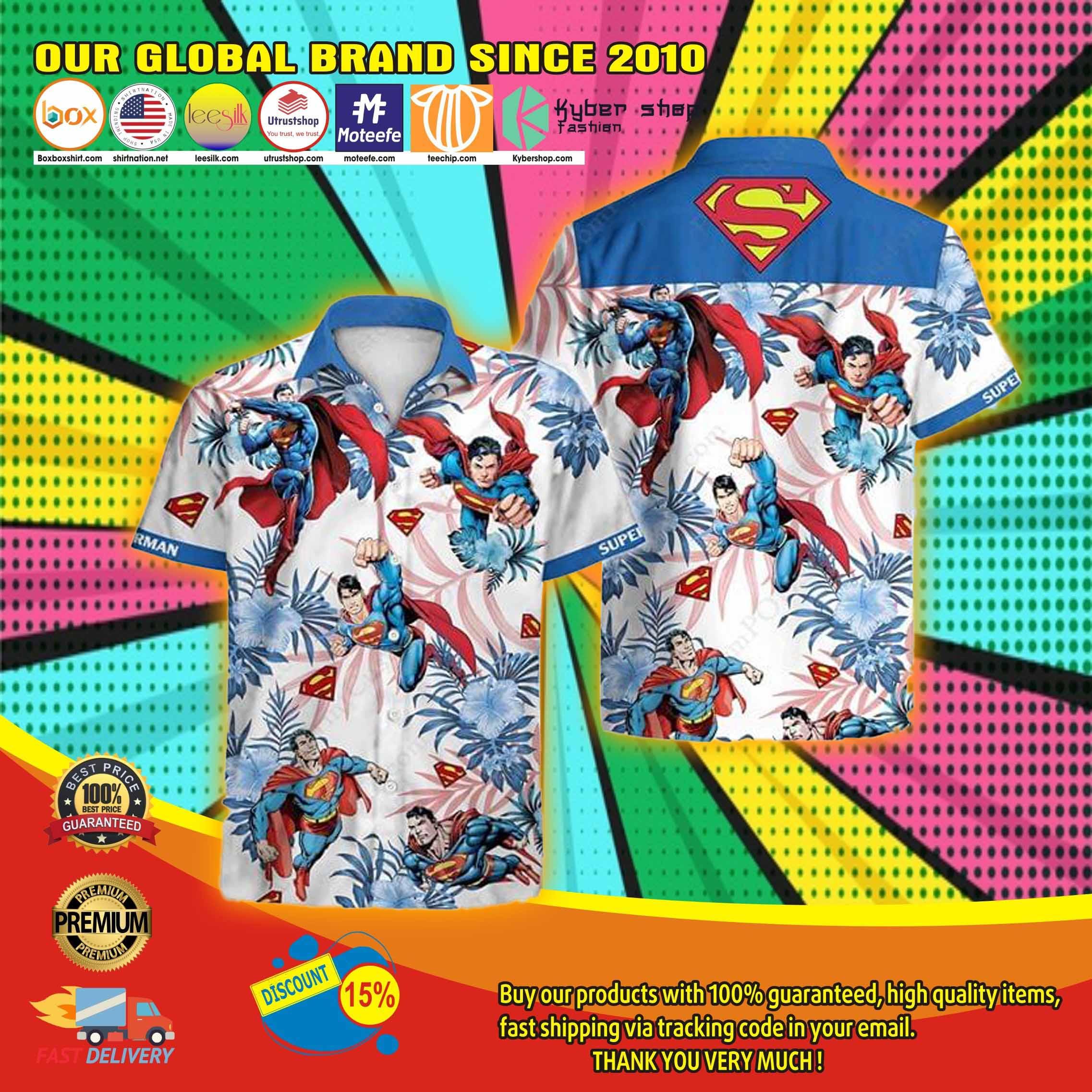 Super man Hawaiian shirt 2