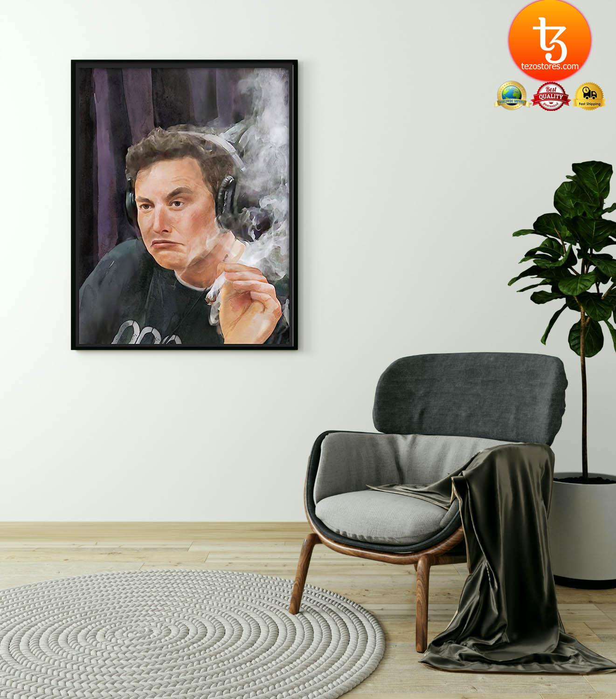 Trippy Room Elon Musk poster 19