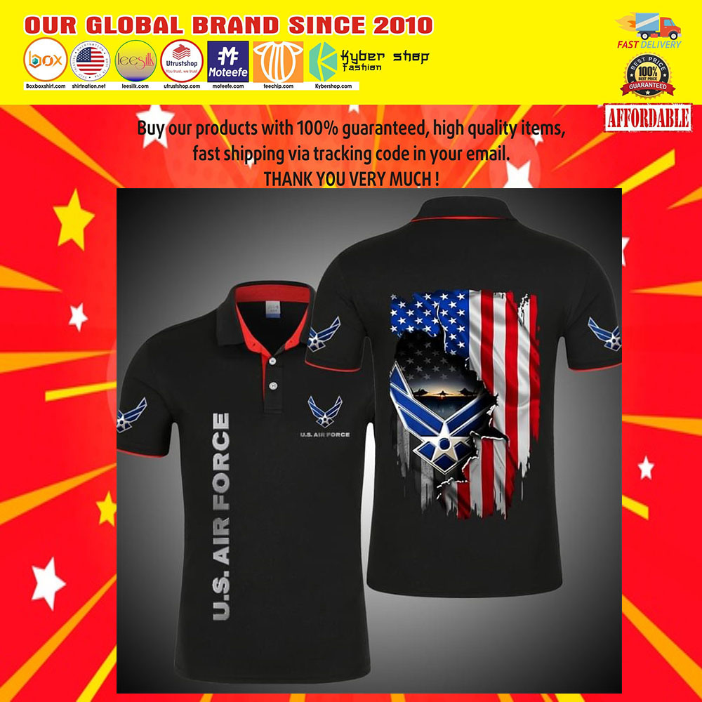 United States Air Force 3d Polo shirt5