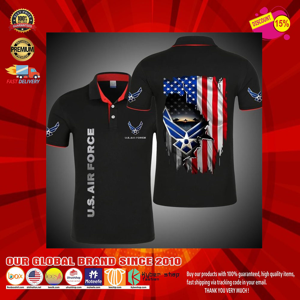 United States Air Force 3d Polo shirt6