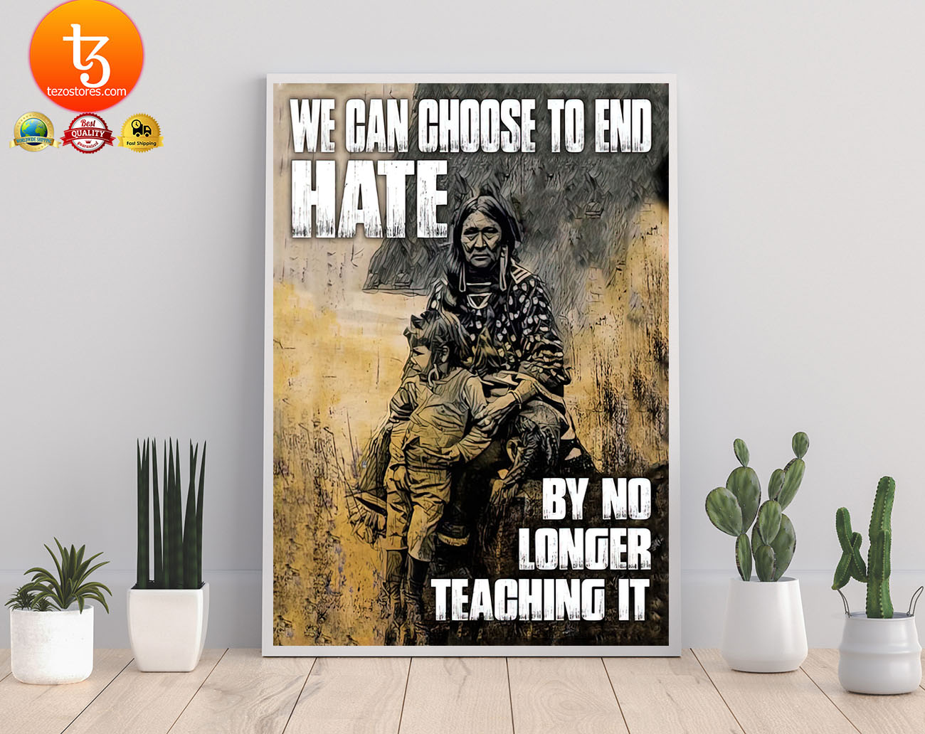 We can choose to end hate by no longer teaching it poster 21