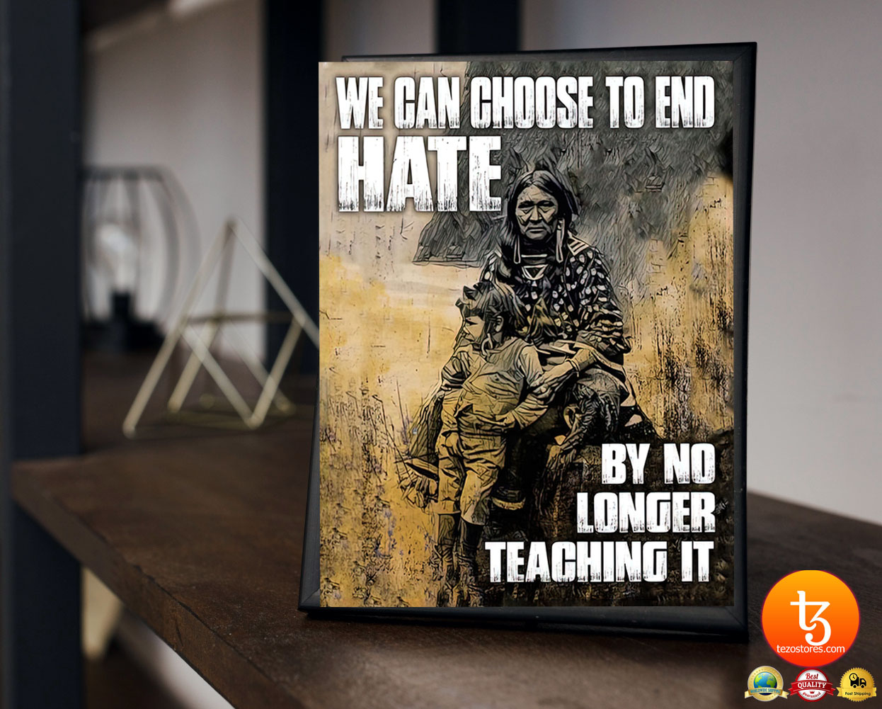 We can choose to end hate by no longer teaching it poster 23
