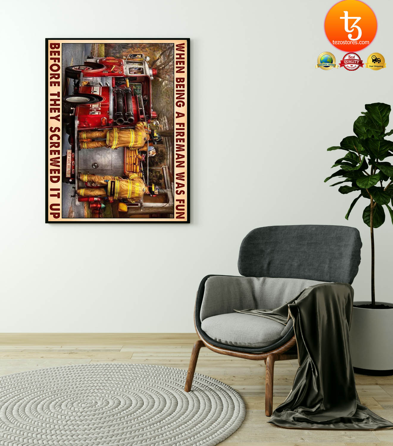 When being a fireman was fun before they screwed it up poster 23