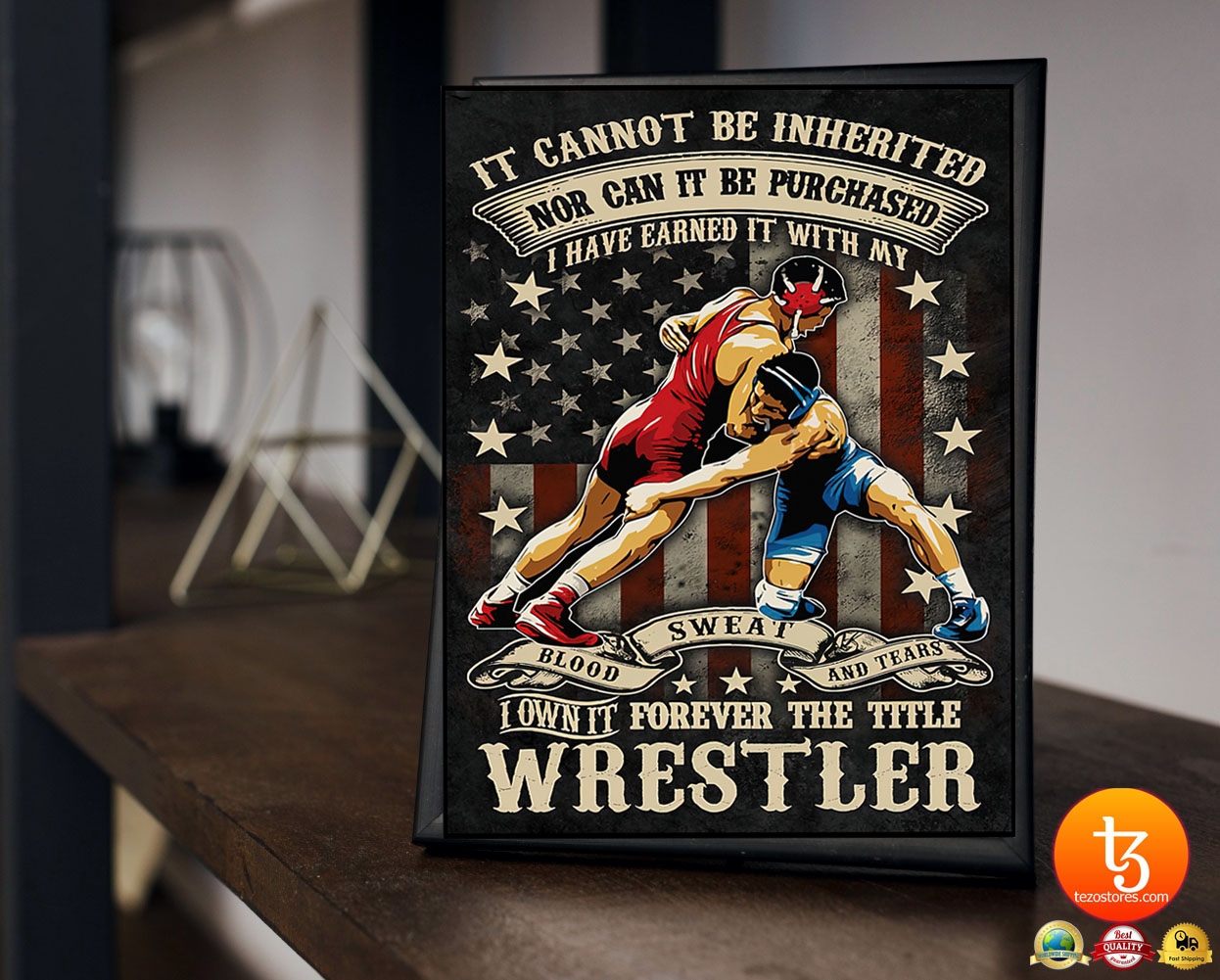 Wrestling it cannot be inherited nor can it be purchased poster 19