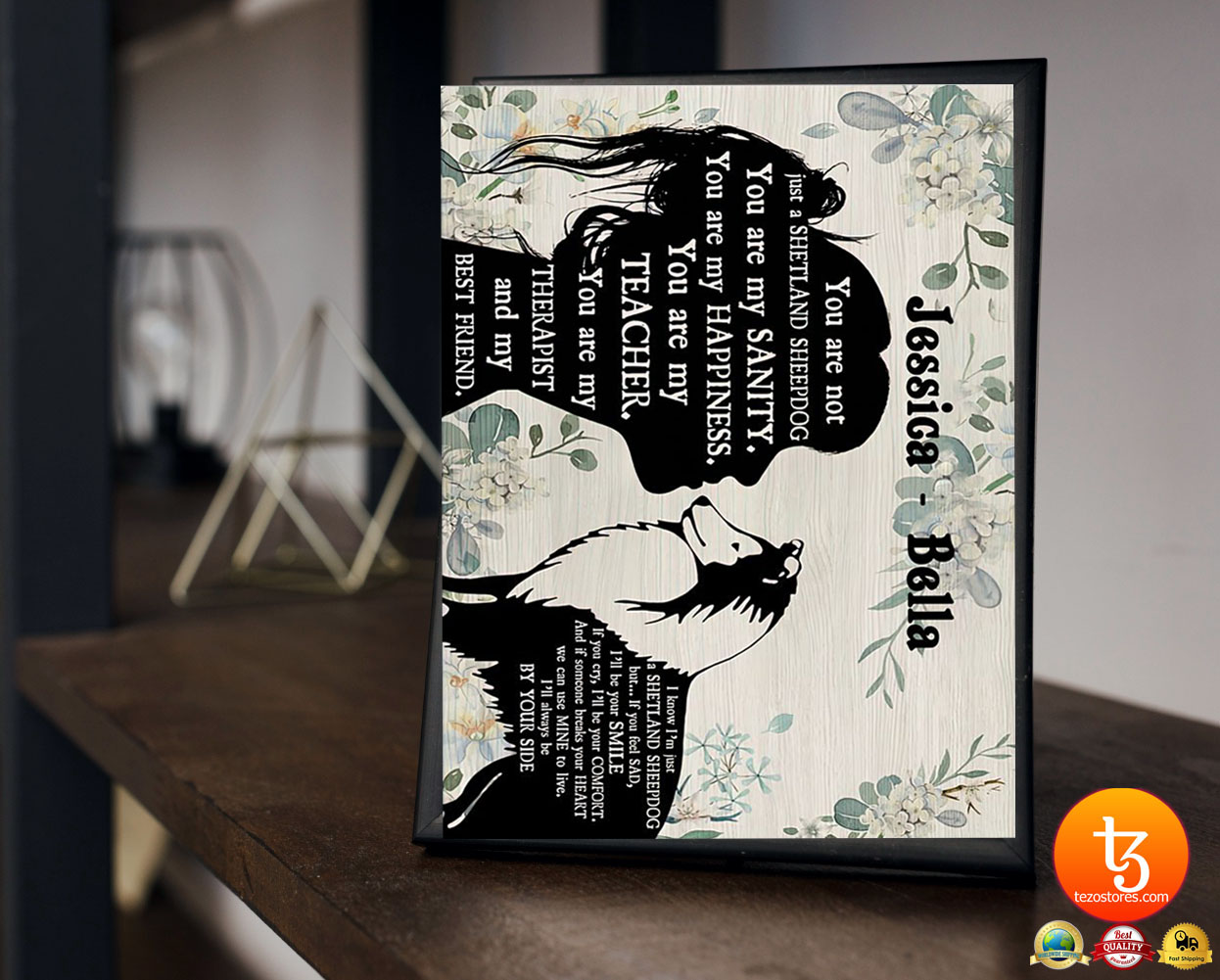 You are not just a shetland sheepdog poster 21