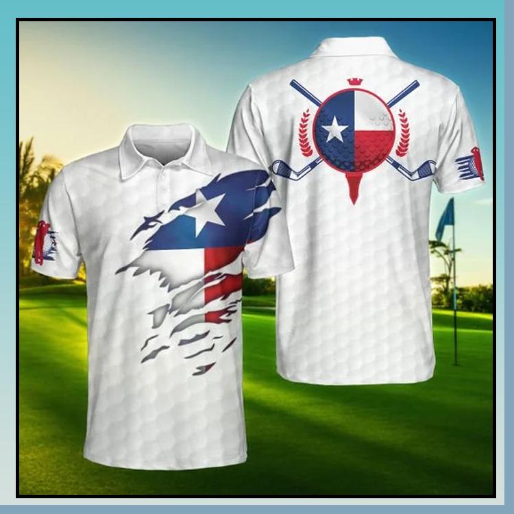 Alabama Flag Golfer Polo Shirt
