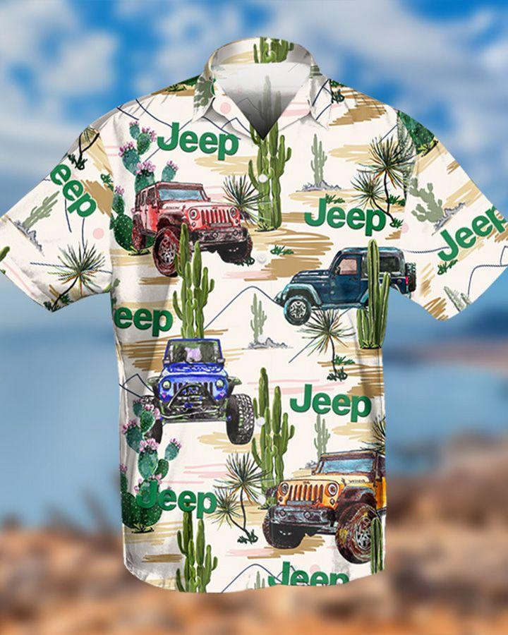 12 Cactus desert hawaiian shirt and short 1