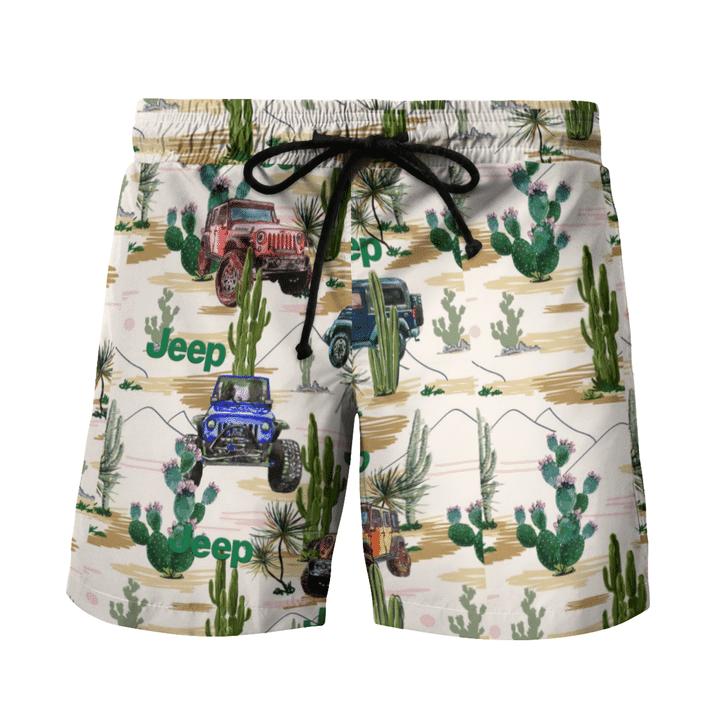 12 Cactus desert hawaiian shirt and short 2