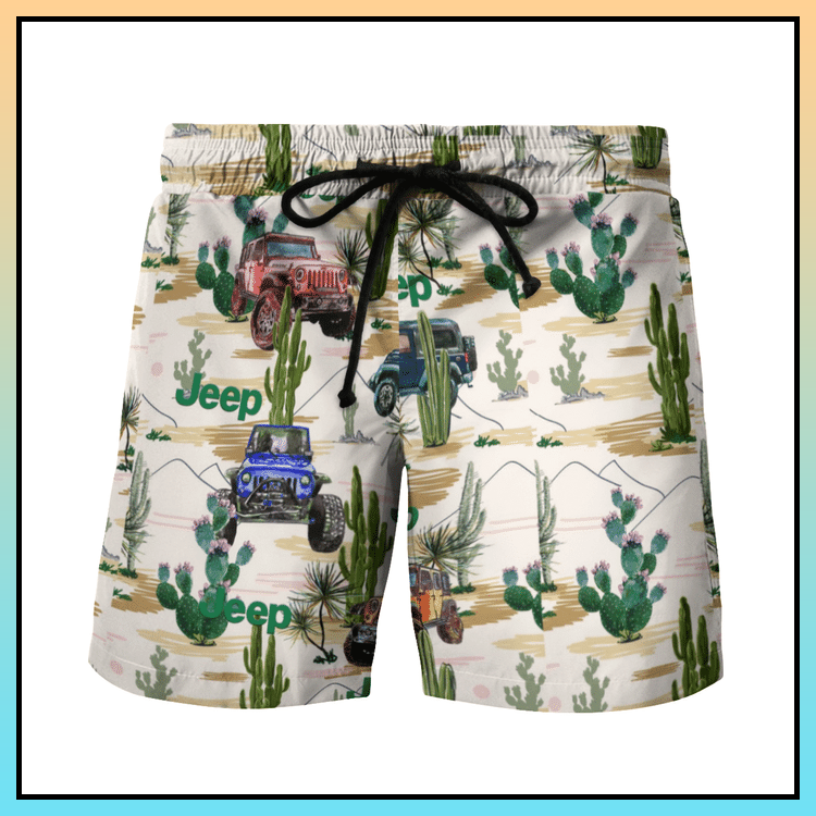 12 Cactus desert hawaiian shirt and short 3
