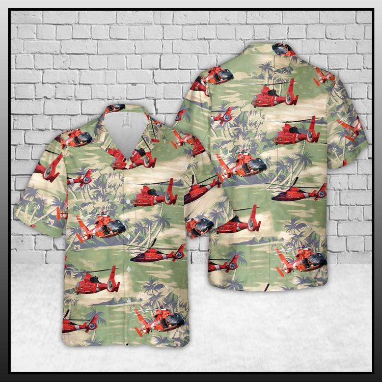 12 Coast Guard Helicopter Hawaiian Shirt 2