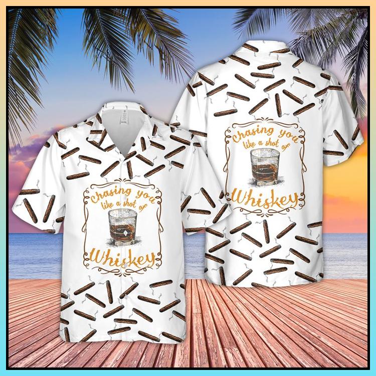 14 Bourbon Whiskey Hawaiian Shirt 3