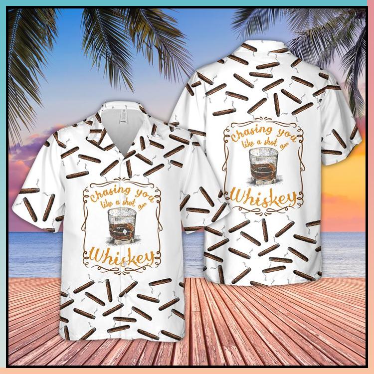 14 Bourbon Whiskey Hawaiian Shirt 4