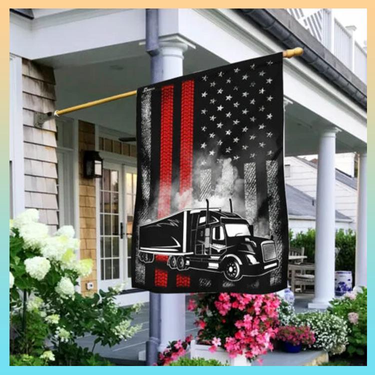 14 Proud Trucker American U.S. Flag1