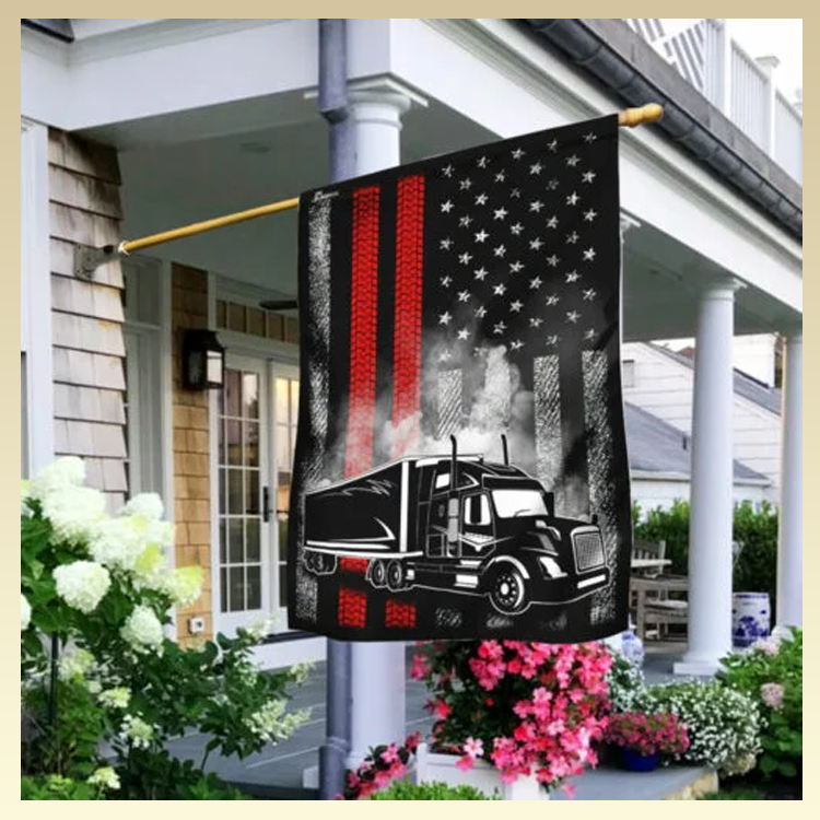 14 Proud Trucker American U.S. Flag3