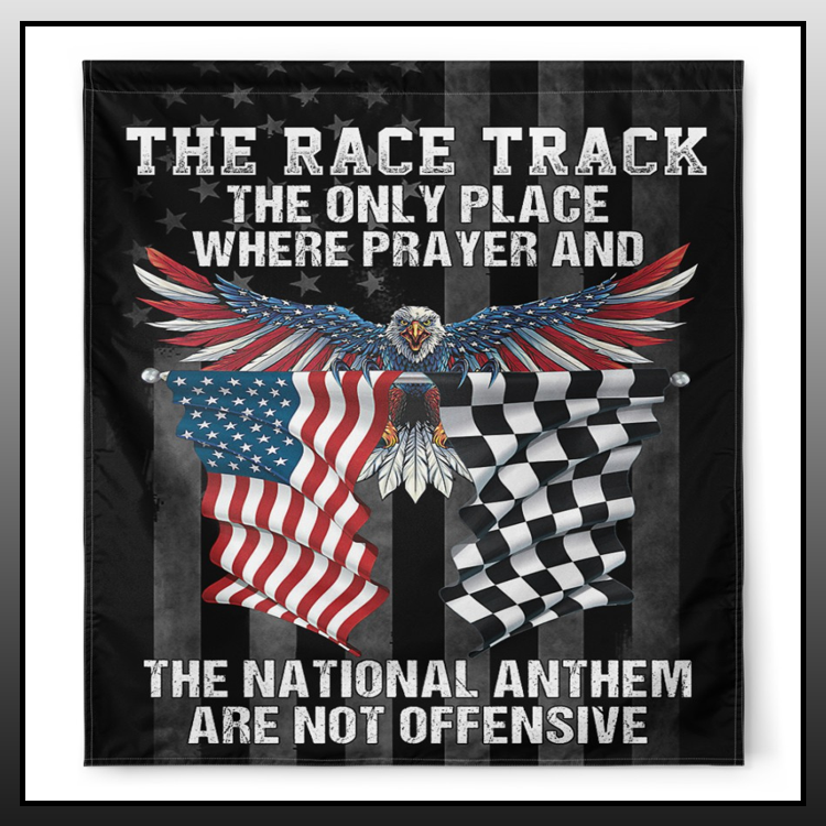 15 Dirt Track the race track the only place where prayer and the national anthem are not offensive 2