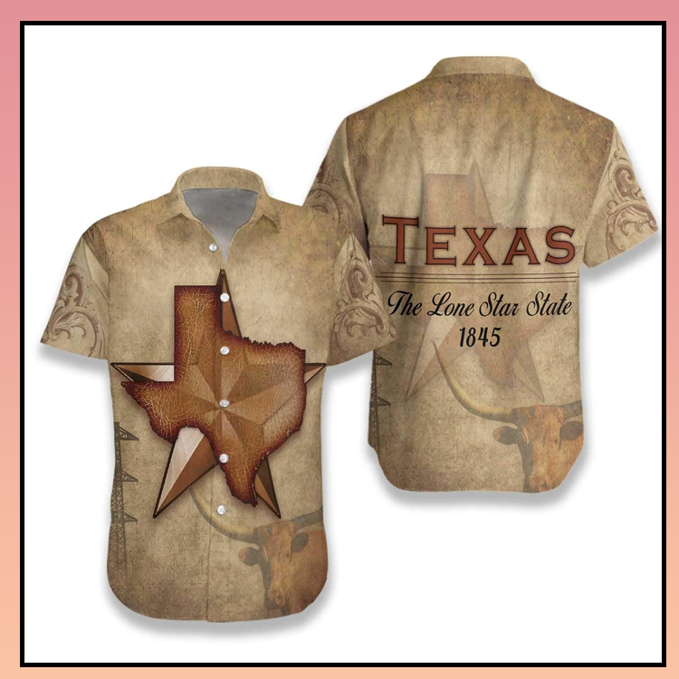 16 Texas The Lone Star State hawaiian shirt 1 1