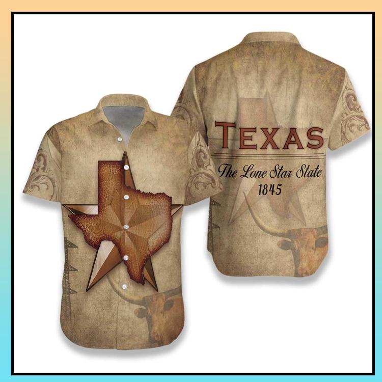16 Texas The Lone Star State hawaiian shirt 3 1