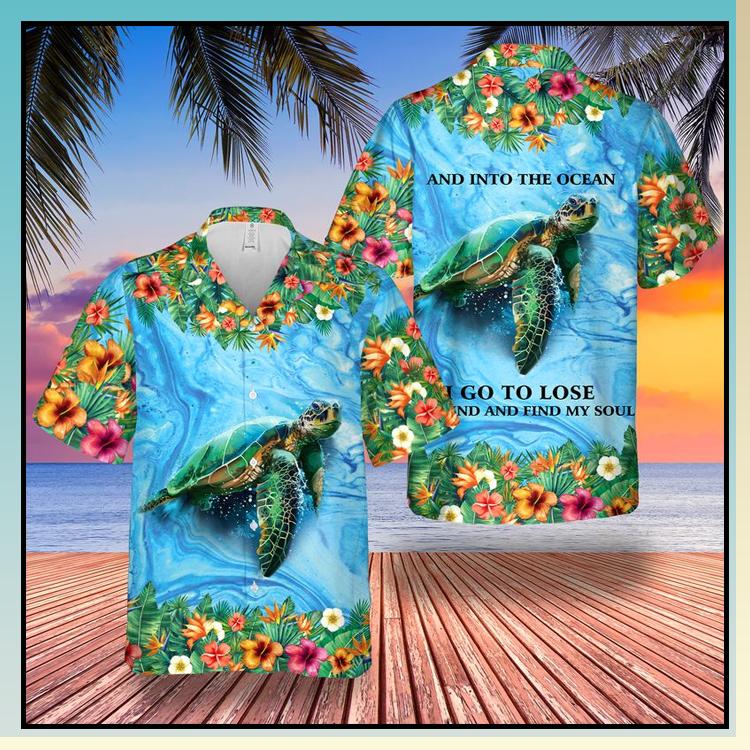 18 Sea Turtle And Into The Ocean Hawaii Shirt 4