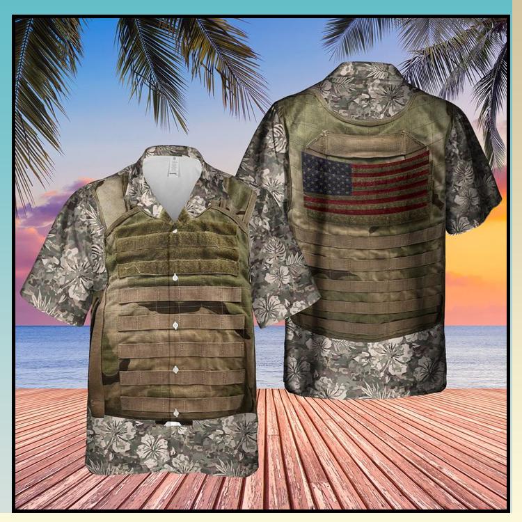19 US Army Tactical Vest Hawaiian Shirt 2