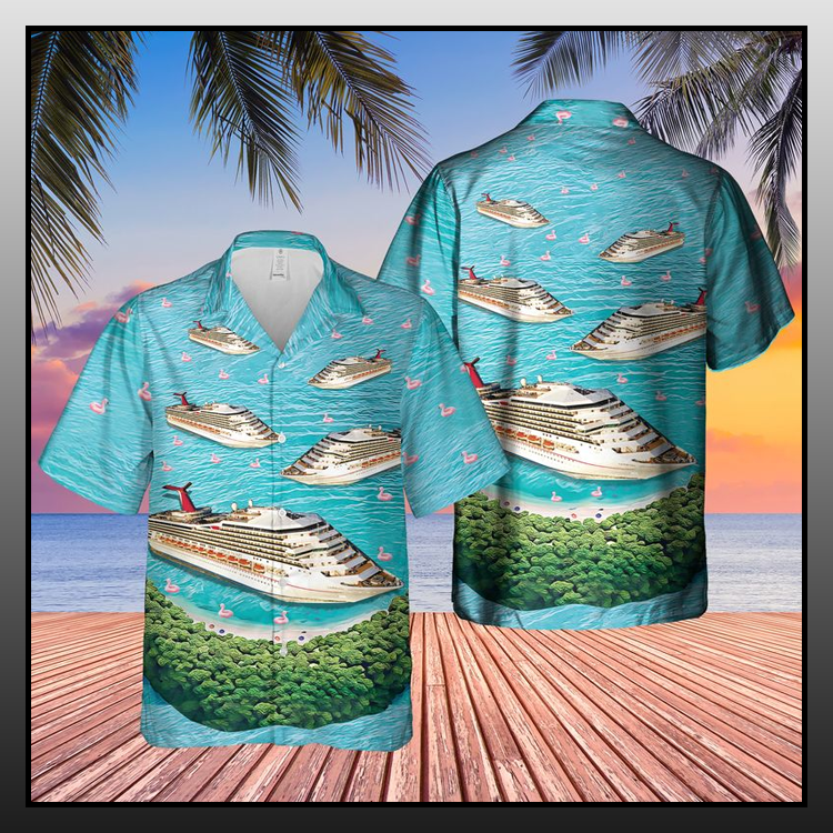 2 Cruise Ship Half Moon Cay Hawaiian Shirt1