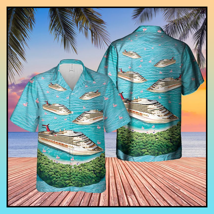 2 Cruise Ship Half Moon Cay Hawaiian Shirt2