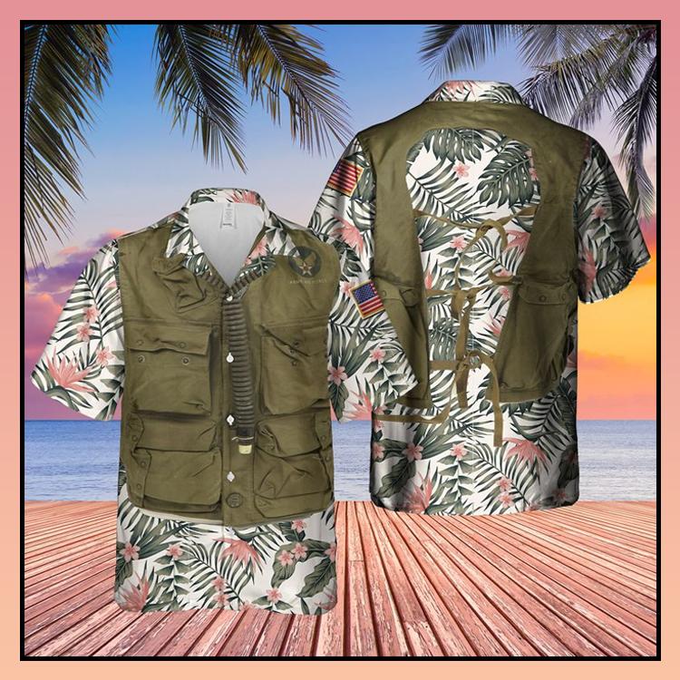 27 USAF SustenanceSurvival Vest Hawaiian Shirt 1