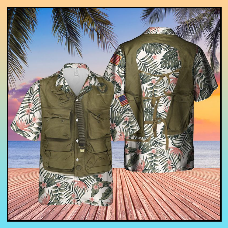 27 USAF SustenanceSurvival Vest Hawaiian Shirt 3