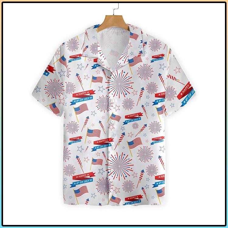 4th Of July US Pattern Hawaiian Shirt 4