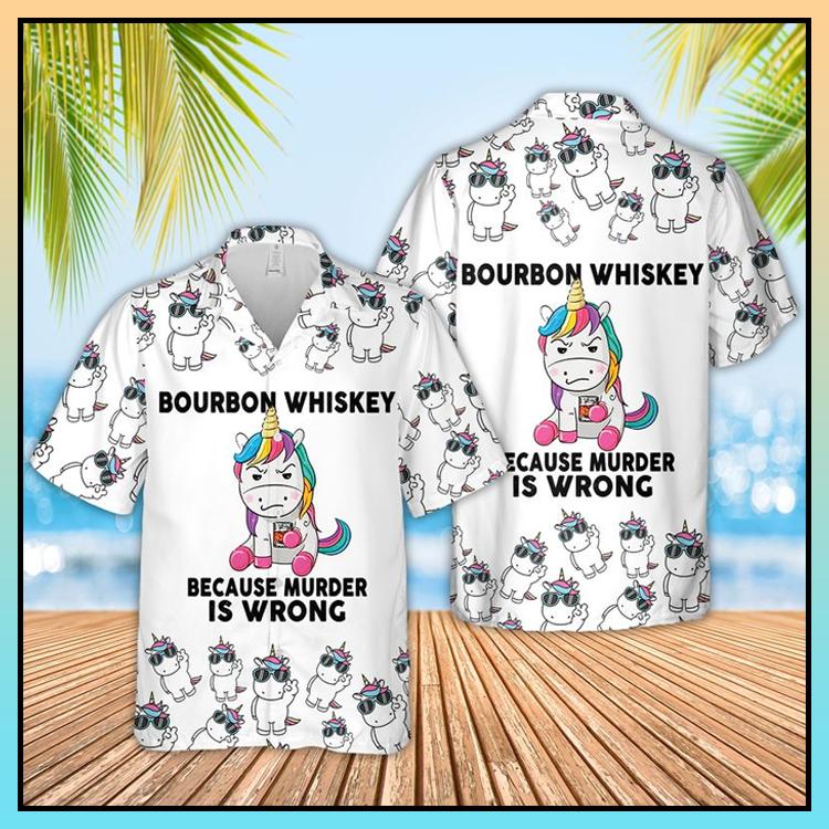 5 Bourbon Whiskey Hawaiian Shirt 3