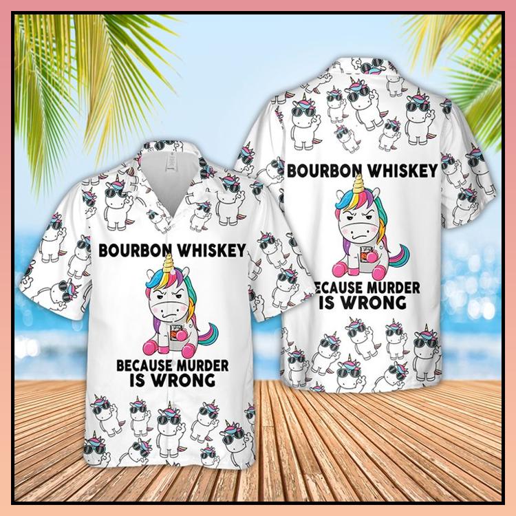5 Bourbon Whiskey Hawaiian Shirt 4