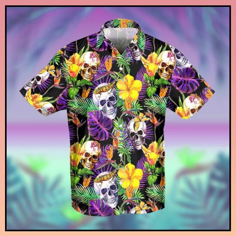 6 Skull Tropical Hawaiian Shirt 1 1