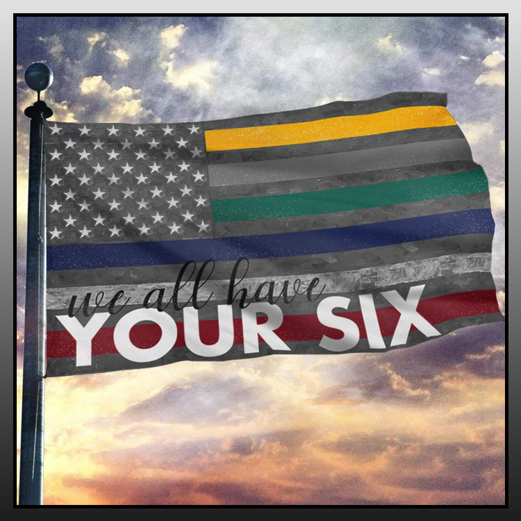 7 We all have you six vintage flag 1 1