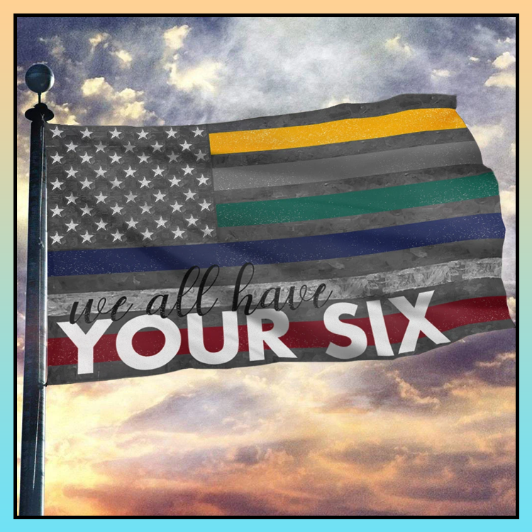 7 We all have you six vintage flag 2 1