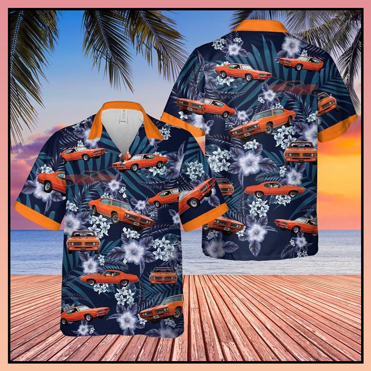 8 Muscle Car Hawaiian Shirt 1