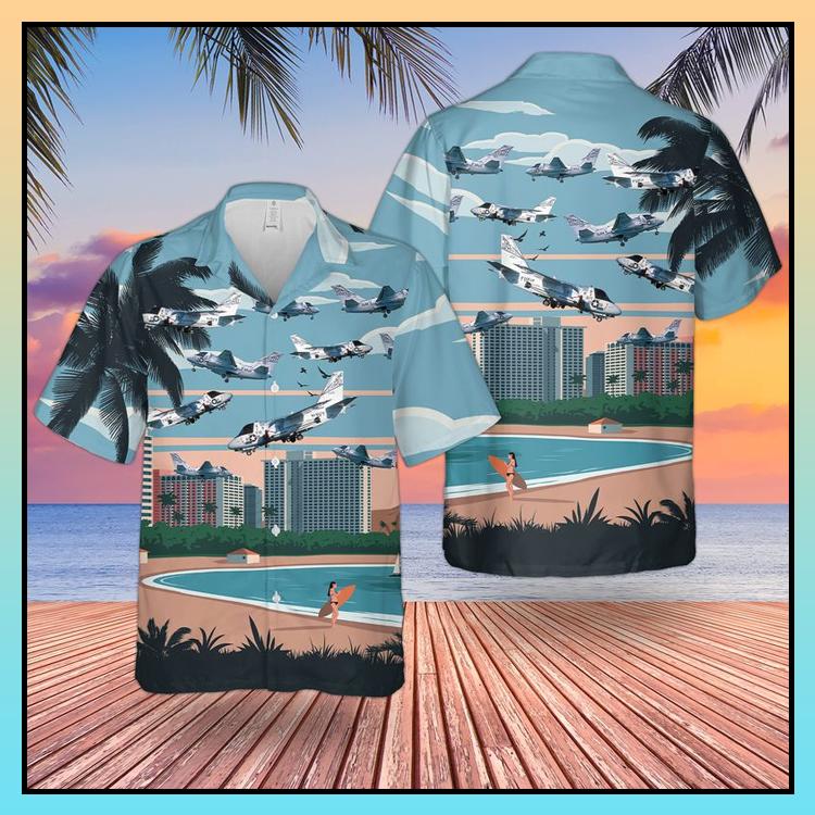 9 Navy Lockheed US 3A Viking Hawaiian Shirt Shorts2