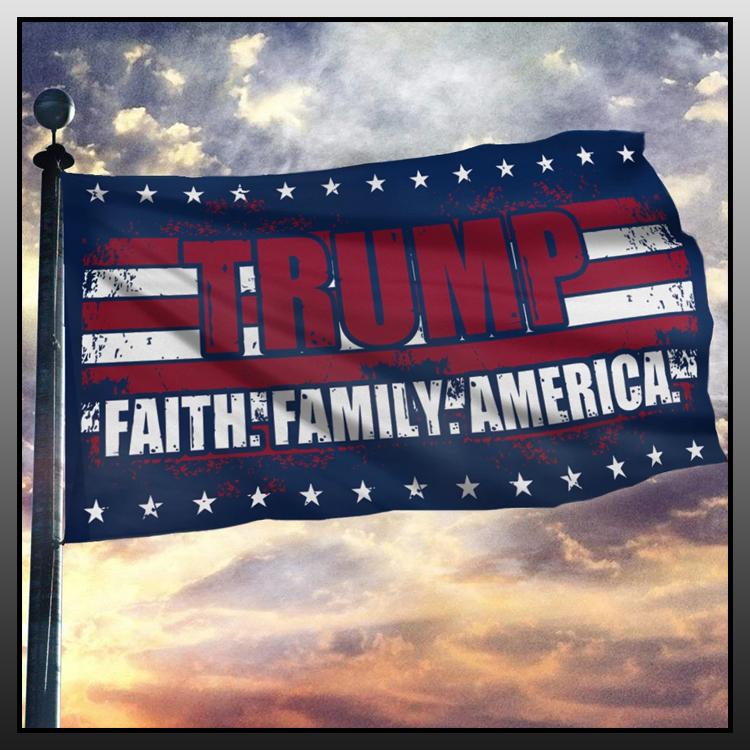 9 Trump faith family America flag 8